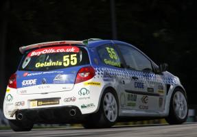 Ignas Gelzinis (LIT) Juta Racing Renault Clio Cup