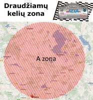 Draudžiamų kelių zonos
